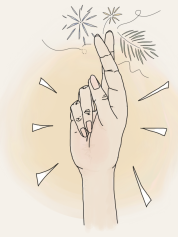 fingers crossed graphic