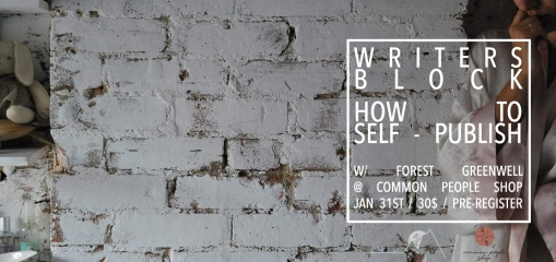 How To Self Publish Workshop